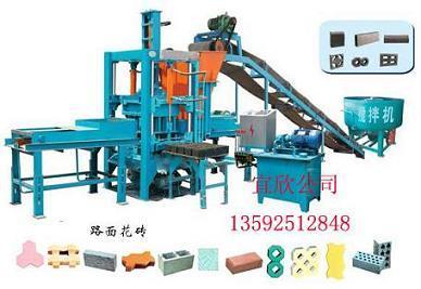 全自动水泥垫块机设备的特点及振动台设计原理