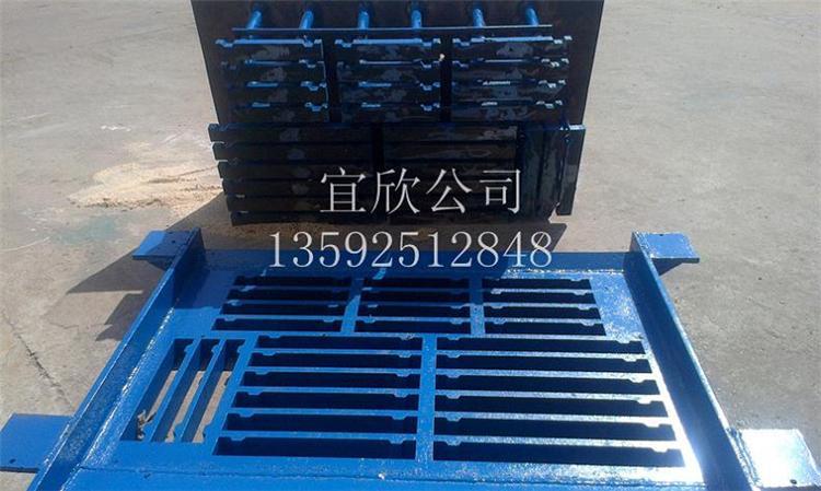 宜欣河南垫块机厂家生产的长条支撑垫块模具