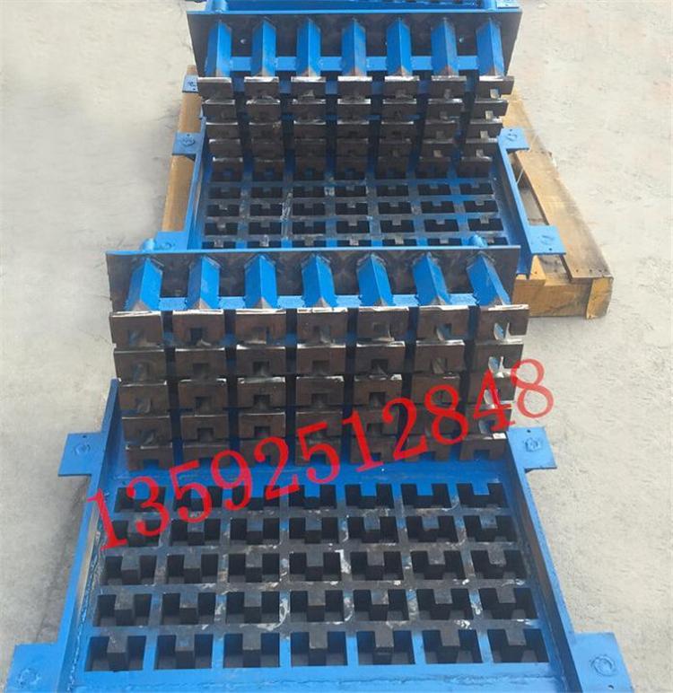 宜欣河南垫块机厂家生产的挡水板垫块模具