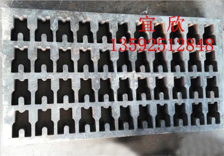宜欣河南垫块机厂家生产的马镫垫块模具